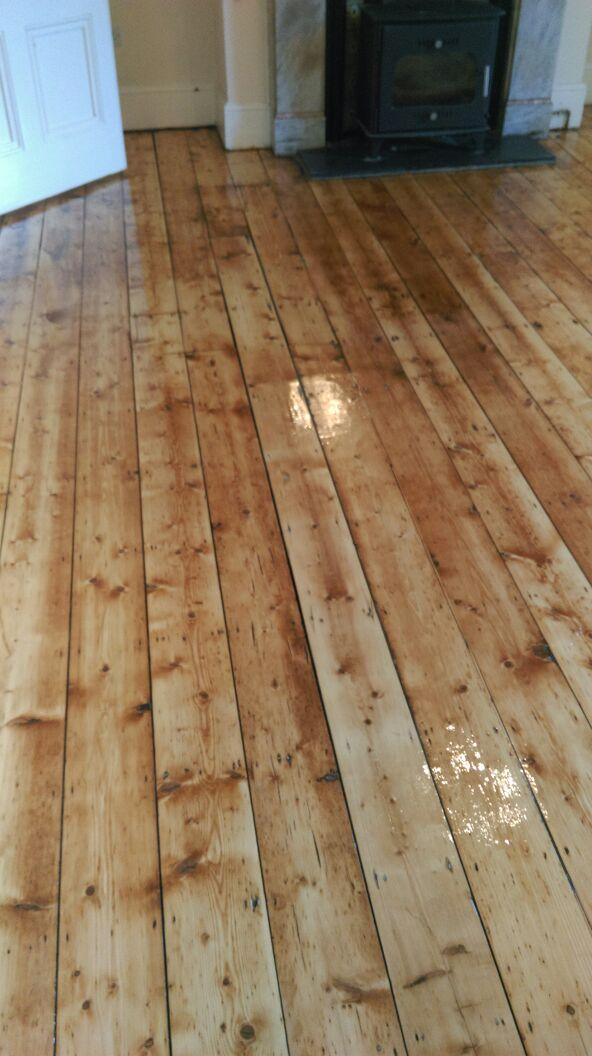 Varnished Wooden Floor Wooden Floor Sanding Specialists